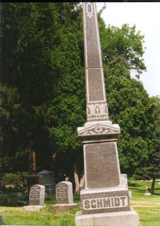 SCHMIDT, (FAMILY MARKER) - Scott County, Iowa | (FAMILY MARKER) SCHMIDT