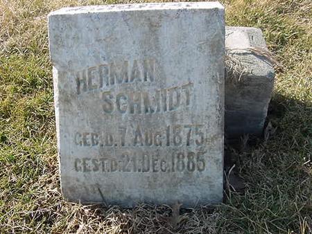 SCHMIDT, HERMAN - Scott County, Iowa | HERMAN SCHMIDT