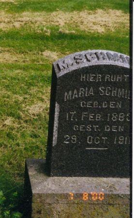SCHMIDT SCHMIDT, MARIA A.C. - Scott County, Iowa | MARIA A.C. SCHMIDT SCHMIDT