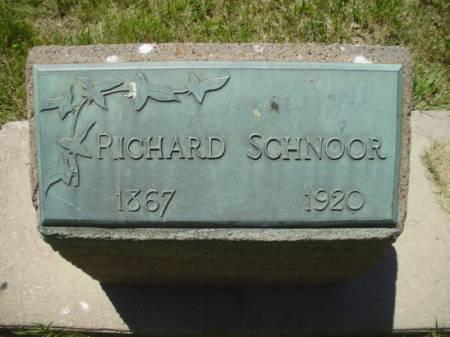 SCHNOOR, RICHARD - Scott County, Iowa | RICHARD SCHNOOR