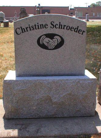 SCHROEDER, CHRISTINE - Scott County, Iowa | CHRISTINE SCHROEDER