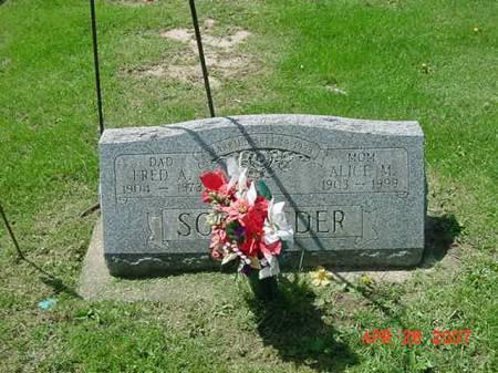 SCHROEDER, FRED A - Scott County, Iowa | FRED A SCHROEDER
