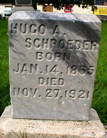 SCHROEDER, HUGO A. - Scott County, Iowa | HUGO A. SCHROEDER