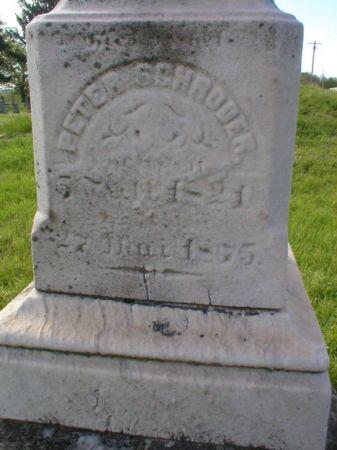 SCHROEDER, PETER - Scott County, Iowa | PETER SCHROEDER