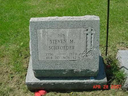 SCHROEDER, STEVEN M - Scott County, Iowa | STEVEN M SCHROEDER