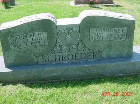 SCHROEDER, THEODORE H - Scott County, Iowa | THEODORE H SCHROEDER