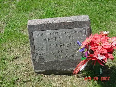 SCHROEDER, WENDY LEE - Scott County, Iowa | WENDY LEE SCHROEDER