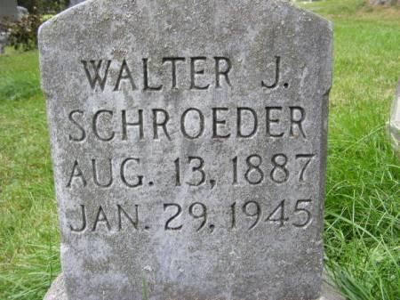 SCHROEDER, WALTER J. - Scott County, Iowa | WALTER J. SCHROEDER