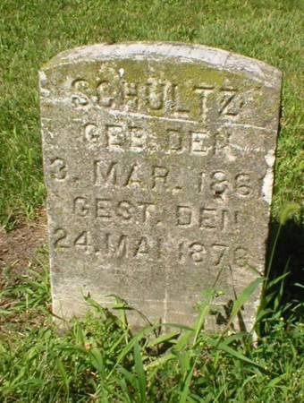 SCHULTZ, OTTILIA - Scott County, Iowa | OTTILIA SCHULTZ