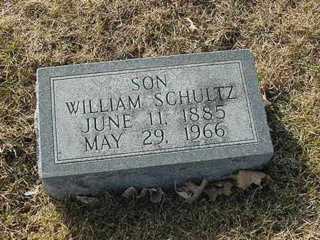 SCHULTZ, WILLIAM - Scott County, Iowa | WILLIAM SCHULTZ