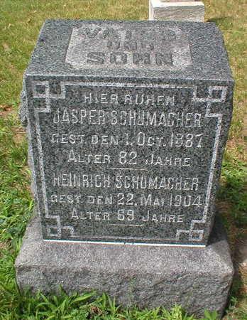 SCHUMACHER, HEINRICH - Scott County, Iowa | HEINRICH SCHUMACHER