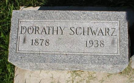SCHWARZ, DORATHY - Scott County, Iowa | DORATHY SCHWARZ