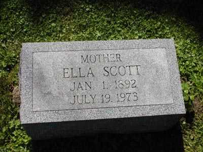 SCOTT, ELLA - Scott County, Iowa | ELLA SCOTT