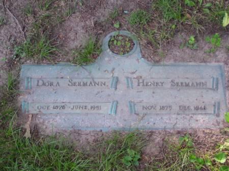 SEEMANN, DORA - Scott County, Iowa | DORA SEEMANN