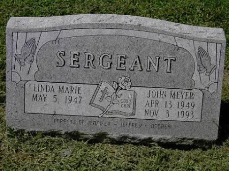 SERGEANT, JOHN MEYER - Scott County, Iowa   JOHN MEYER SERGEANT