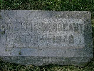 SERGEANT, NELLIE - Scott County, Iowa | NELLIE SERGEANT