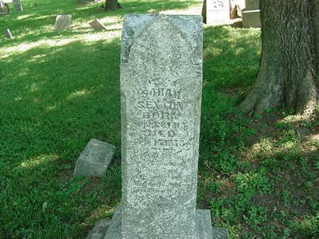 SEXTON, SARAH - Scott County, Iowa | SARAH SEXTON