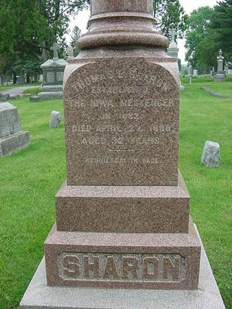 SHARON, THOMAS L - Scott County, Iowa | THOMAS L SHARON