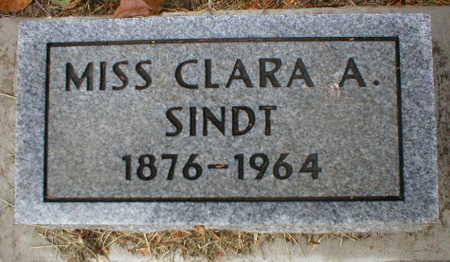 SINDT, CLARA A. - Scott County, Iowa | CLARA A. SINDT