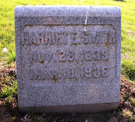 SMITH, HARRIET - Scott County, Iowa | HARRIET SMITH