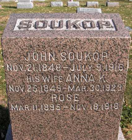 SOUKOP, ROSE - Scott County, Iowa | ROSE SOUKOP