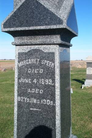 SPEER, MARGARET - Scott County, Iowa | MARGARET SPEER