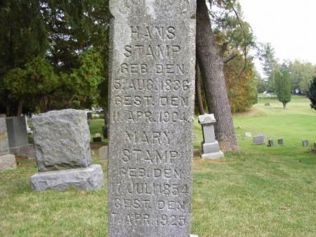 STAMP, HANS - Scott County, Iowa | HANS STAMP