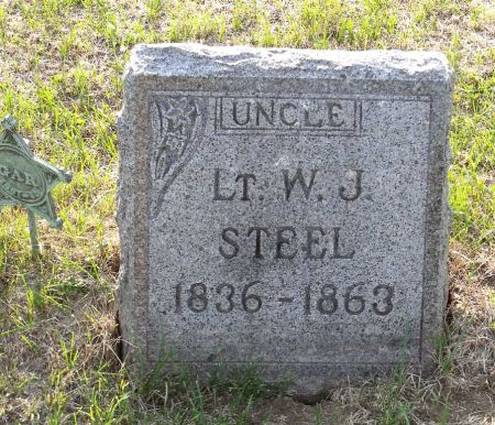 STEEL, WILLIAM JENKINS - Scott County, Iowa   WILLIAM JENKINS STEEL