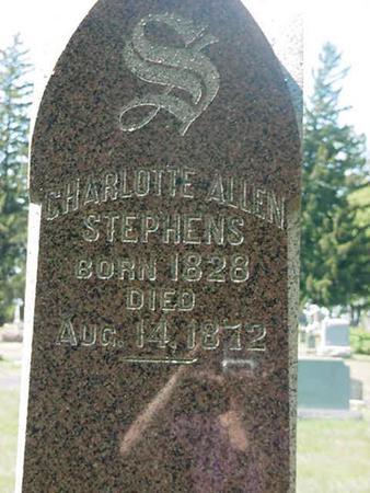 STEPHENS, CHARLOTTE - Scott County, Iowa | CHARLOTTE STEPHENS