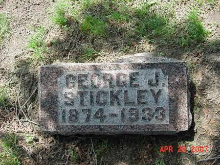 STICKLEY, GEORGE J - Scott County, Iowa | GEORGE J STICKLEY