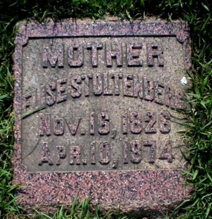 STOLTENBERG, ELISE - Scott County, Iowa | ELISE STOLTENBERG