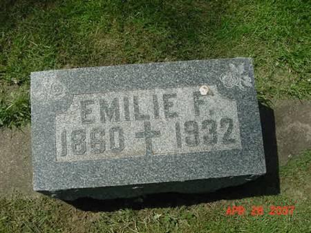 STREICHER, EMILIE F - Scott County, Iowa | EMILIE F STREICHER