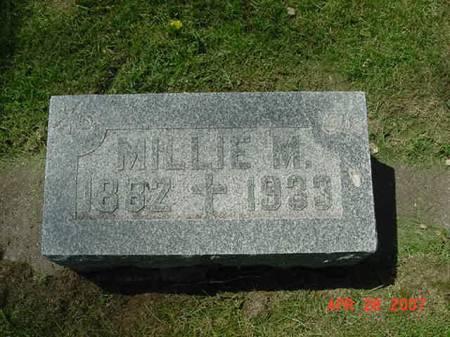 STREICHER, MILLIE M - Scott County, Iowa | MILLIE M STREICHER