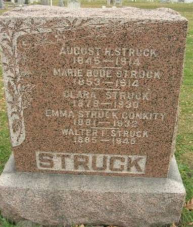 BODE STRUCK, MARIE - Scott County, Iowa | MARIE BODE STRUCK