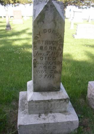 STRUCK, MARY DORTHEA - Scott County, Iowa | MARY DORTHEA STRUCK