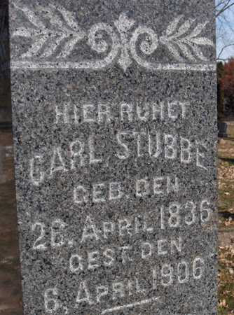 STUBBE, CARL - Scott County, Iowa | CARL STUBBE