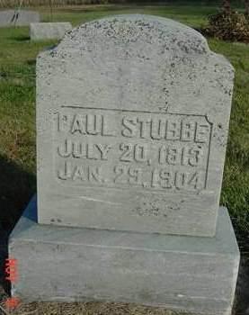 STUBBE, PAUL - Scott County, Iowa | PAUL STUBBE