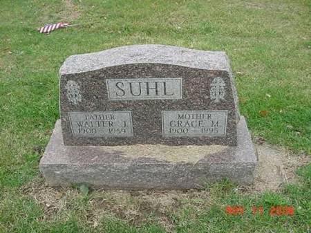 SUHL, WALTER J - Scott County, Iowa | WALTER J SUHL