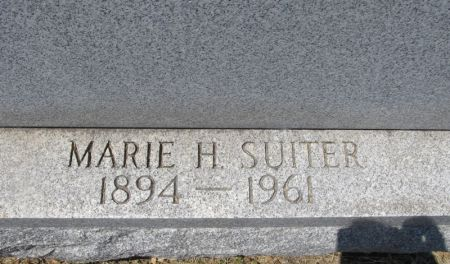 SUITER, MARIE H. - Scott County, Iowa | MARIE H. SUITER