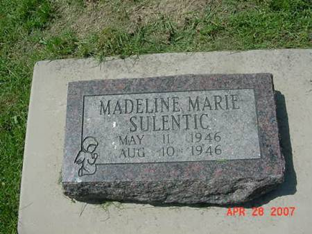 SULENTIC, MADELINE MARIE - Scott County, Iowa | MADELINE MARIE SULENTIC