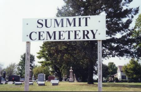 SUMMIT, CEMETERY - Scott County, Iowa | CEMETERY SUMMIT