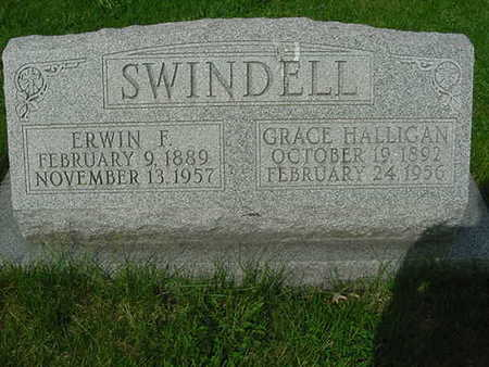HALLIGAN SWINDELL, GRACE - Scott County, Iowa | GRACE HALLIGAN SWINDELL