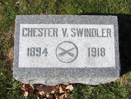 SWINDLER, CHESTER V. - Scott County, Iowa | CHESTER V. SWINDLER