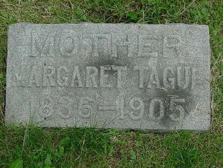 TAGUE, MARGARET - Scott County, Iowa | MARGARET TAGUE