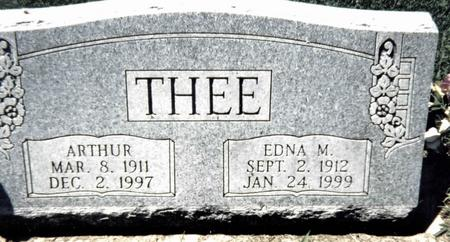 THEE, EDNA M. - Scott County, Iowa | EDNA M. THEE