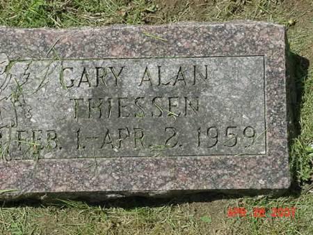 THIESSEN, GARY ALAN - Scott County, Iowa   GARY ALAN THIESSEN