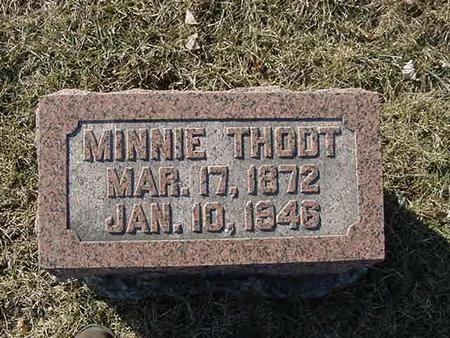 THODT, MINNIE - Scott County, Iowa | MINNIE THODT
