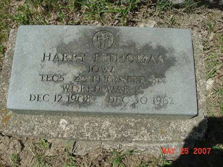 THOMAS, HARRY P - Scott County, Iowa | HARRY P THOMAS