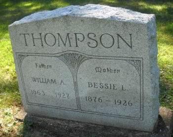 THOMPSON, BESSIE  L. - Scott County, Iowa | BESSIE  L. THOMPSON
