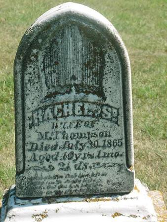 THOMPSON, RACHEL S - Scott County, Iowa | RACHEL S THOMPSON